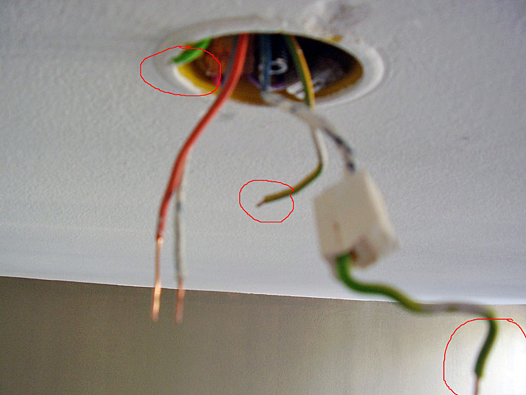branchement luminaire 3 fils