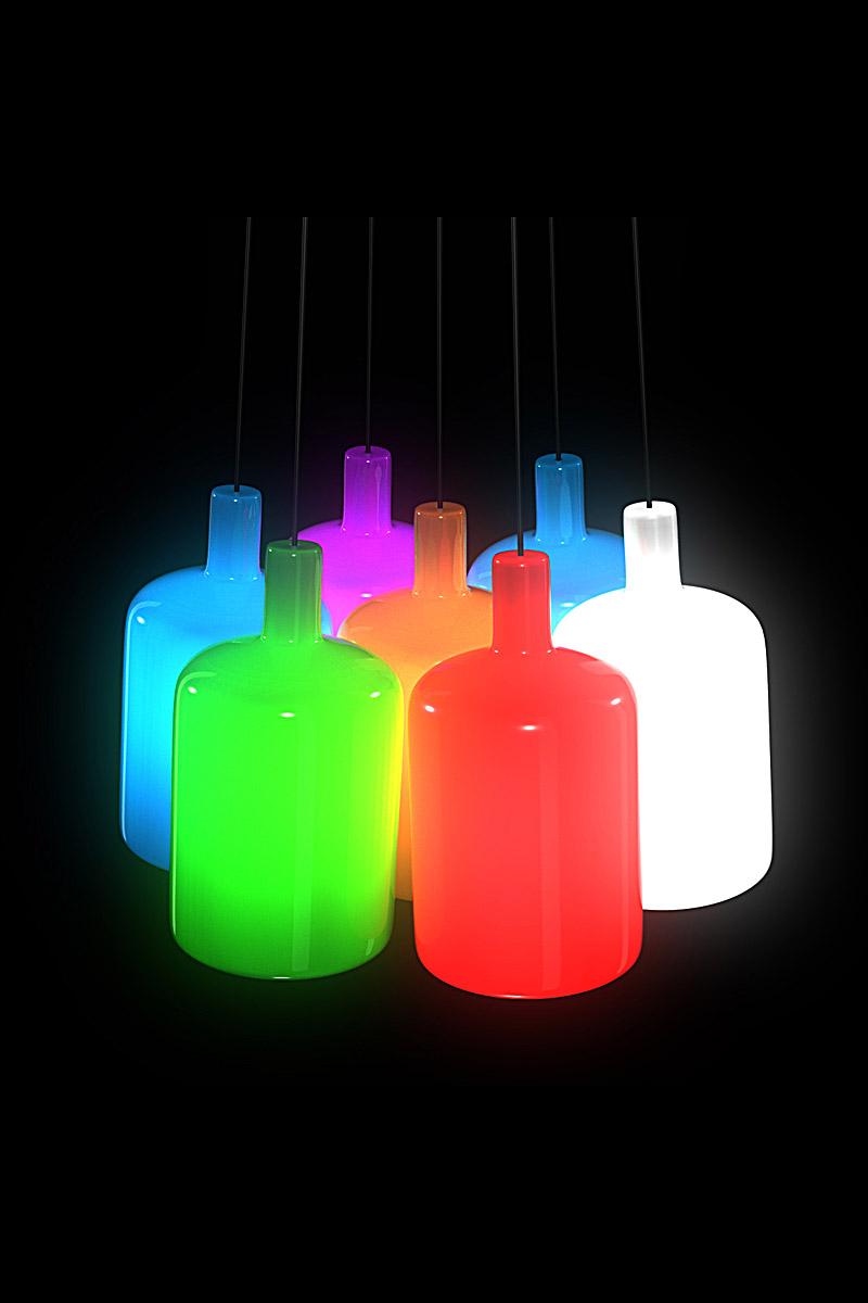 luminaire couleur