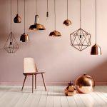 luminaire cuivre design