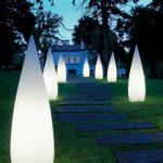 luminaire de jardin design
