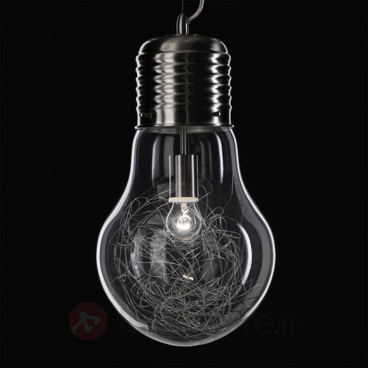 Lustre En Forme D Ampoule