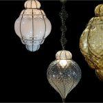 luminaire en verre soufflé