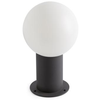 luminaire extérieur boule blanche