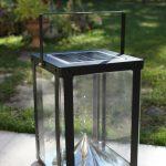 luminaire extérieur solaire