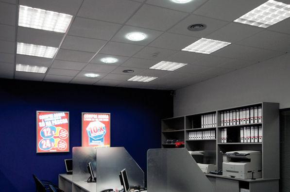 luminaire pour faux plafond