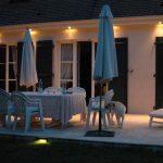 luminaire pour terrasse