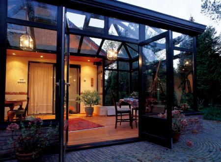 luminaire pour veranda