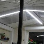 luminaire veranda aluminium