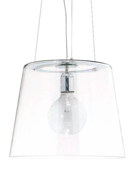 luminaire verre transparent