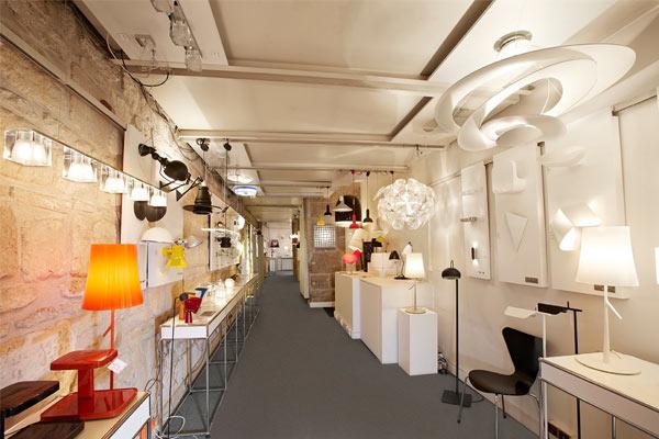 magasin de luminaire paris