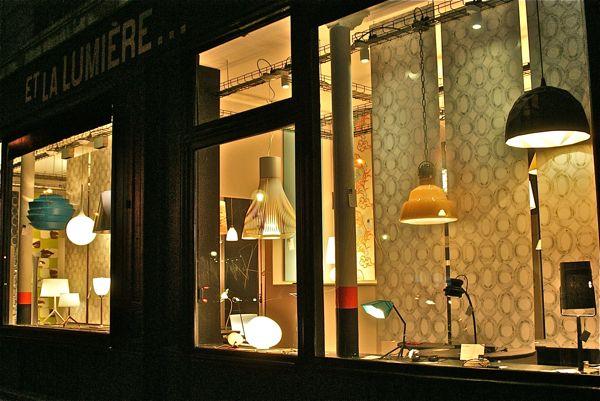 magasin luminaires paris