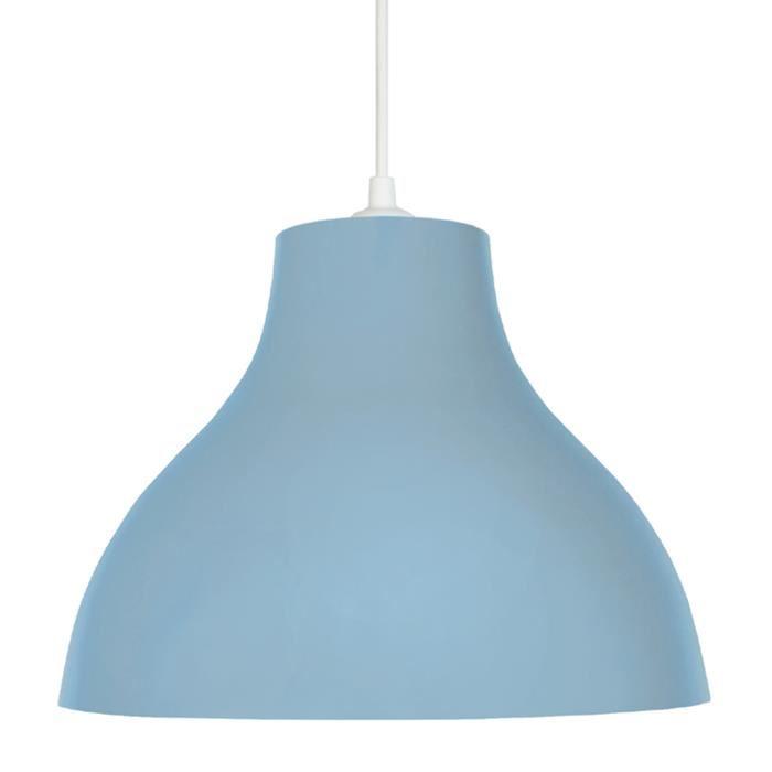 suspension luminaire bleu - Photos-luminaire.com