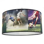 suspension luminaire football