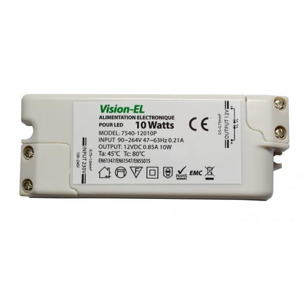 transformateur luminaire 220v 12v